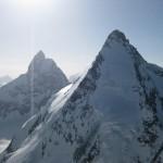 41Dent d Herens und Matterhorn