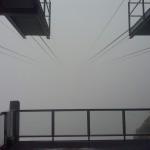 Dalla stazione di partenza della funivia Salati -> Indren guardando in alto. Chebella giornata...