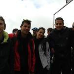 foto di gruppo a Indren