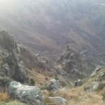 cresta Federici dall'alto